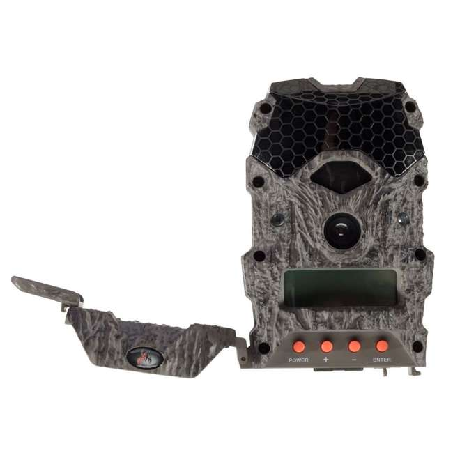 WGICM0572 Wildgame Innovations Mirage 18 MP Trail Camera w/ 8GB SD Card and Batteries 1
