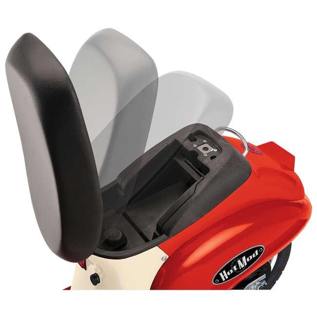 15130656 Razor Pocket Mod Miniature Electric Scooter, Red 2