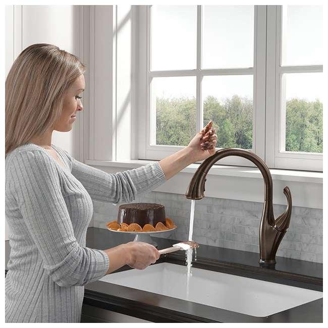 9192T-RB-DST Delta Addison Single Handle Kitchen Faucet, Venetian Bronze (2 Pack) 4