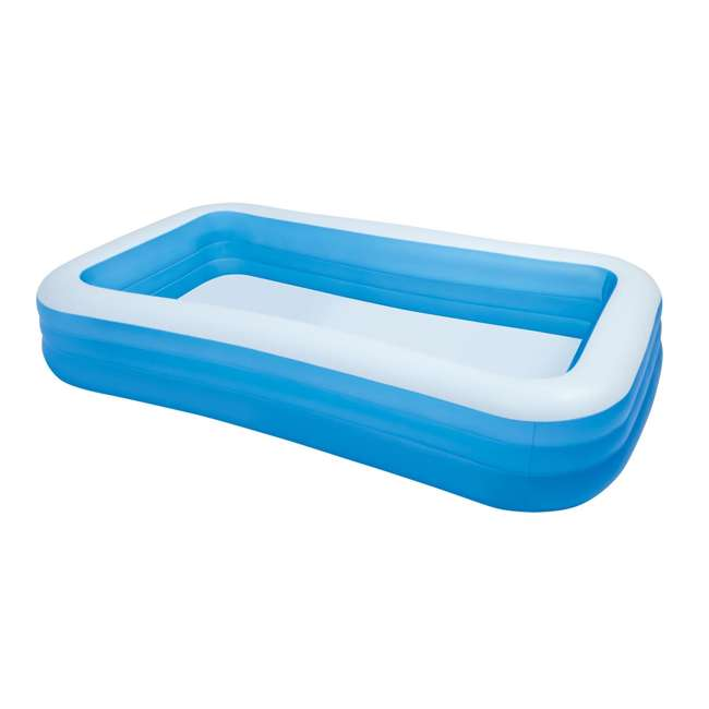 Intex swim center family swimming pool and quick fill air for Quick up pool 120 hoch