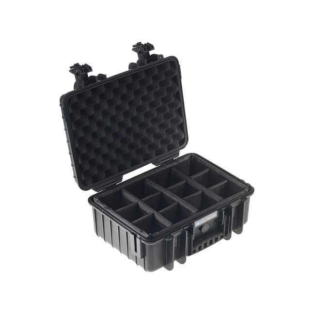 4000/B/RPD + CS/3000 B&W International 4000/B/RPD RPD Insert Plastic Outdoor Case with Shoulder Strap 2