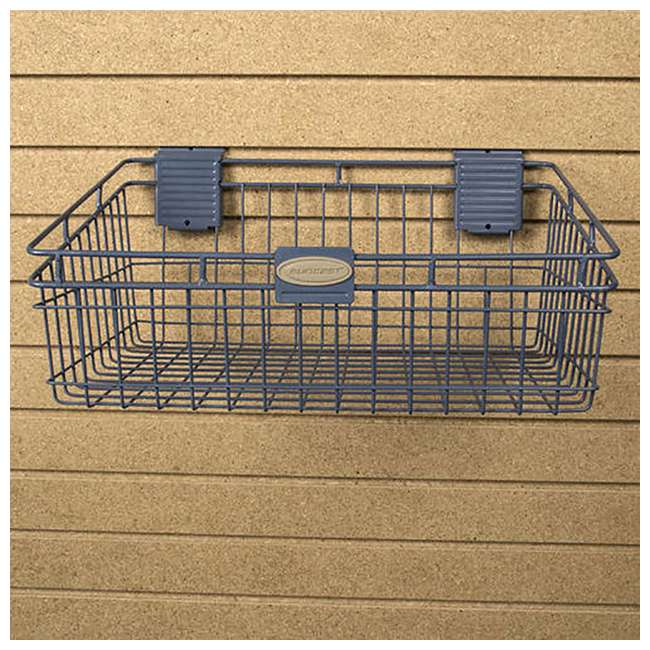 MB1218 Storage Trends 12 x 18 Inch Wire Basket, Blue 4