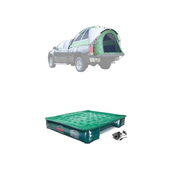 13100 + PPI PV202C Napier BackRoadz 13100 SUV and Minivan Tent w/ GreenAirBedz Inflatable Pickup Truck Air Mattress