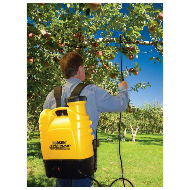 HDH-13854 Hudson  NeverPump Bak-Pak Battery Powered Sprayer  3