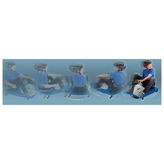 25143442 Razor Adult Electric High Torque Motorized Drifting Crazy Cart, Blue (2 Pack) 7