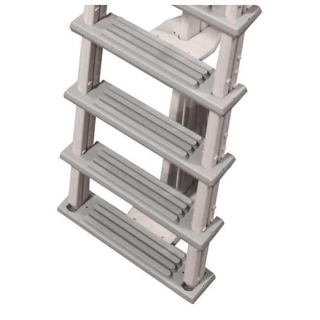 6000X-U-A Confer 46-56 Inch Swimming Pool Ladder (Open Box) (2 Pack) 3