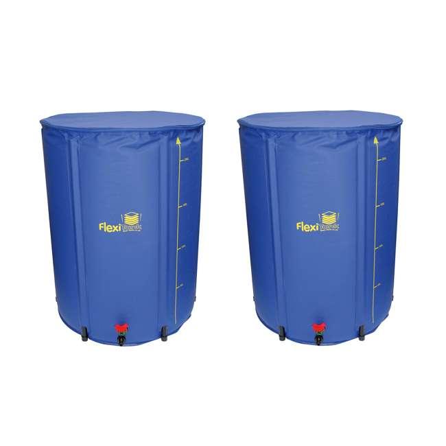 AWFT0060 AutoPot FlexiTank Collapsible Garden Water Reservoir, 60 Gallons (2 Pack)