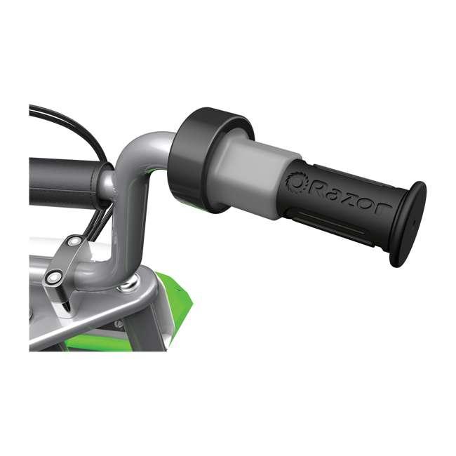 15128030 + 97775 Razor MX400 Dirt Rocket Moto Bike & Full Face Helmet 8