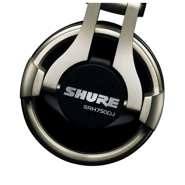 SRH750DJ Shure Professional Studio Recording Headphones (2 Pack) 3