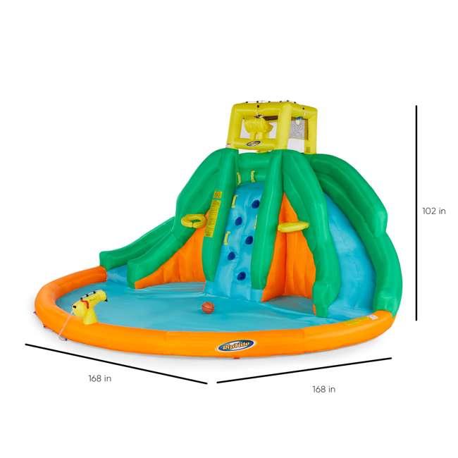 90475 Kahuna Twin Peaks Inflatable Water Slide Park 2