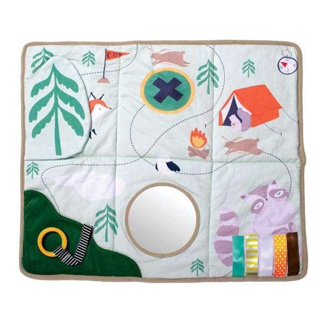 215530 Manhattan Toy Company Camp Acorn Sensory Baby Toy Activity Play Mat w/ Mirror 3