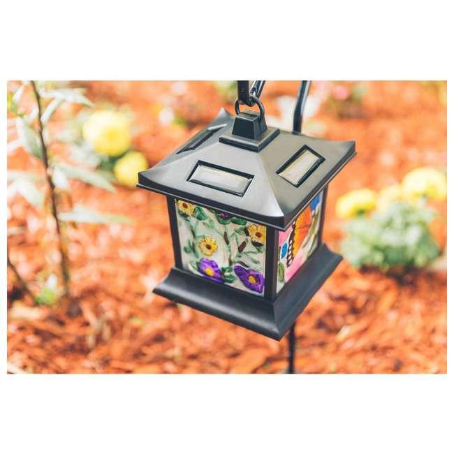 MR-92276 Moonrays Solar Powered LED Garden Outdoor Metal Stake Light 5