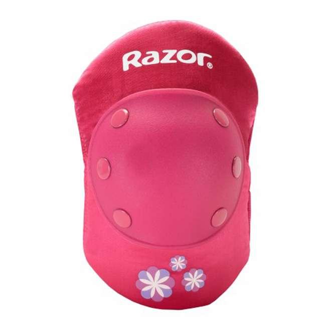 15130608 + 97778 + 96783 Razor Rechargeable Ride-on Scooter + Bicycle Helmet + Elbow & Knee Pad Set 9