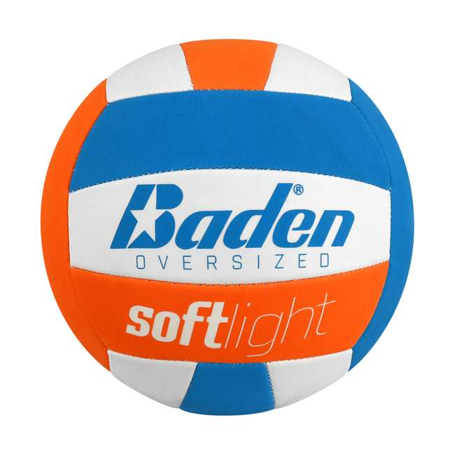 VXT2-05 Baden Softlight Oversized Indoor Youth Training Volleyball for Kids 8 and Under