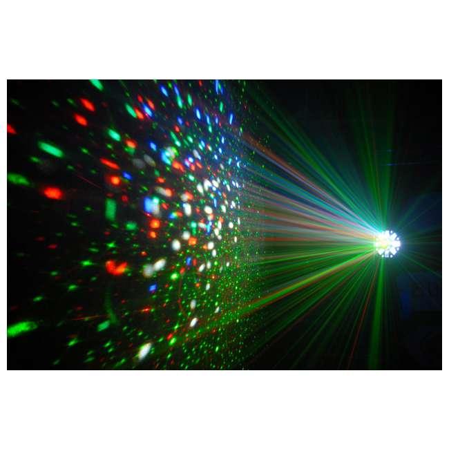 SWARM-5FX + DJBANK + LTS-6 Chauvet DJ Derby Strobe + Wash Light + Stand 4