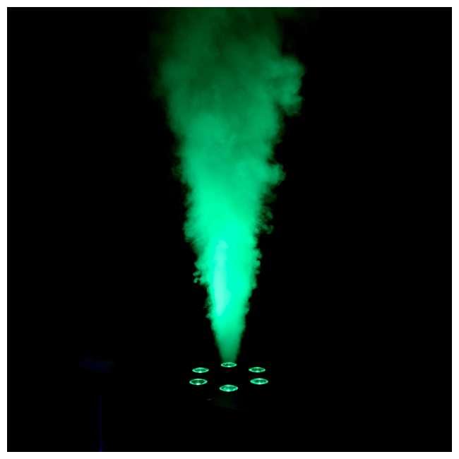 GEYSER-T6 + 2 x FJU Chauvet DJ Geyser T6 Fog Machine and Light Effect with 2 Gallons Fog Fluid 5