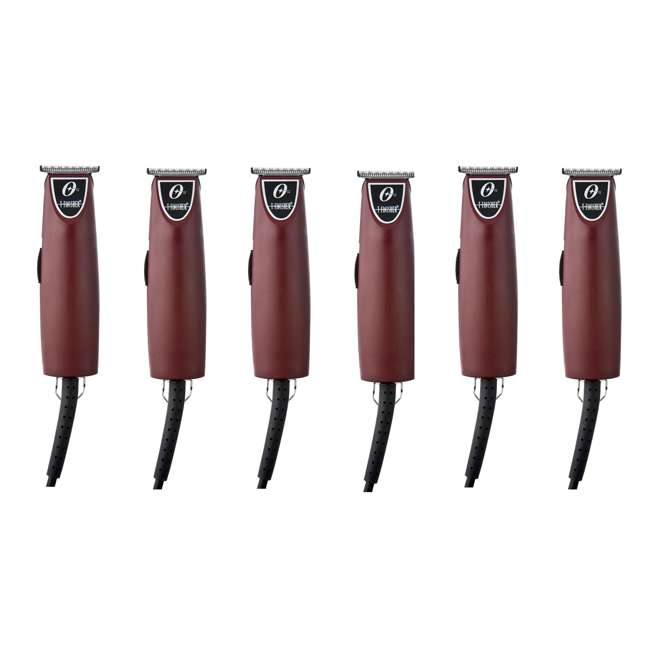 6 x OST076059-010-001 Oster Professional T-Finisher T-Blade Clipper Trimmer (6 Pack)