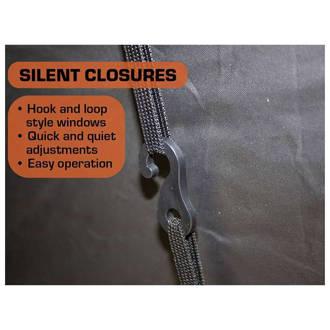 R500-MOC Rhino Blinds R500-MOC Mossy Oak Beak Up Country 4 Person Hunting Ground Blind 4