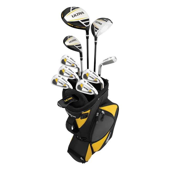 WGGC25000 Wilson Ultra Men's Standard Right-Handed Golf Club Set