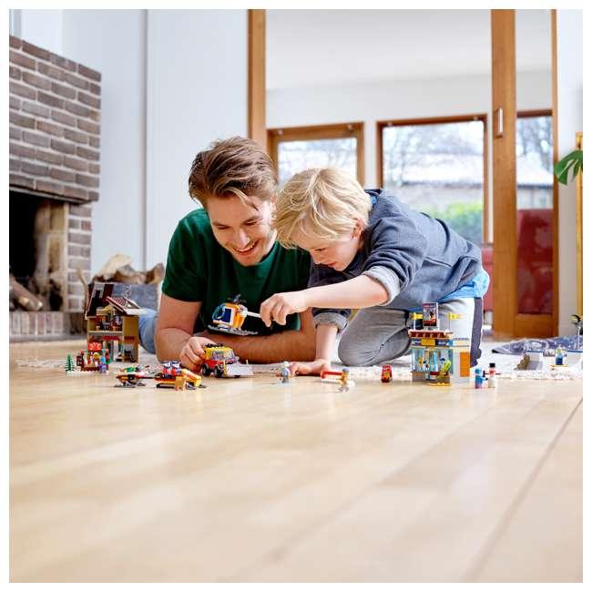 6283902 LEGO City 60203 Winter Ski Resort Building Kit 806 Pieces w/ 11 Minifigures 6