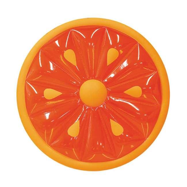 9054O + 9054Y Swimline 60-Inch Inflatable Orange & Lemon Slice Float 3