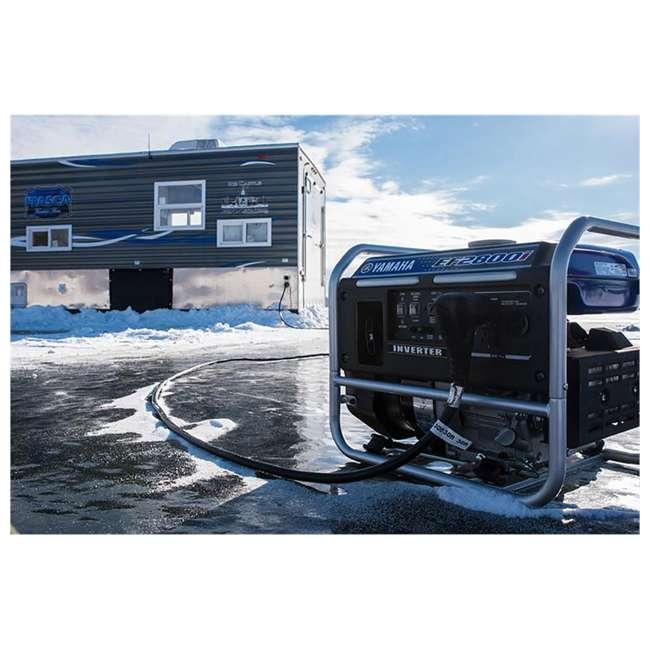 EF2800i Yamaha EF2800i 2500-Watt Inverter Generator, Blue   5