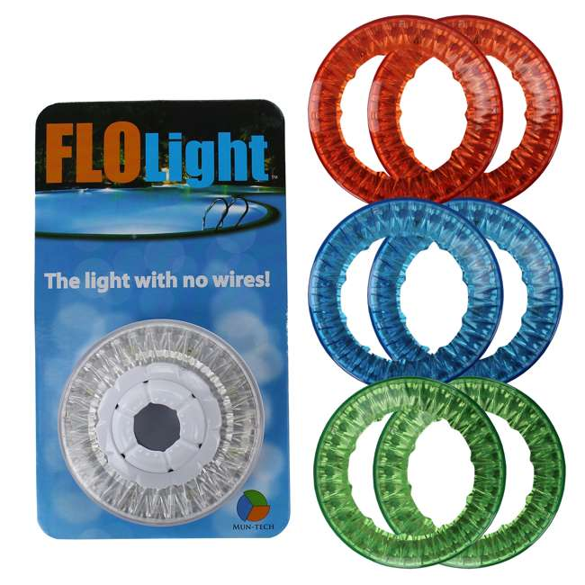 Flolight Led Wireless Swimming Pool Light 6 Colored