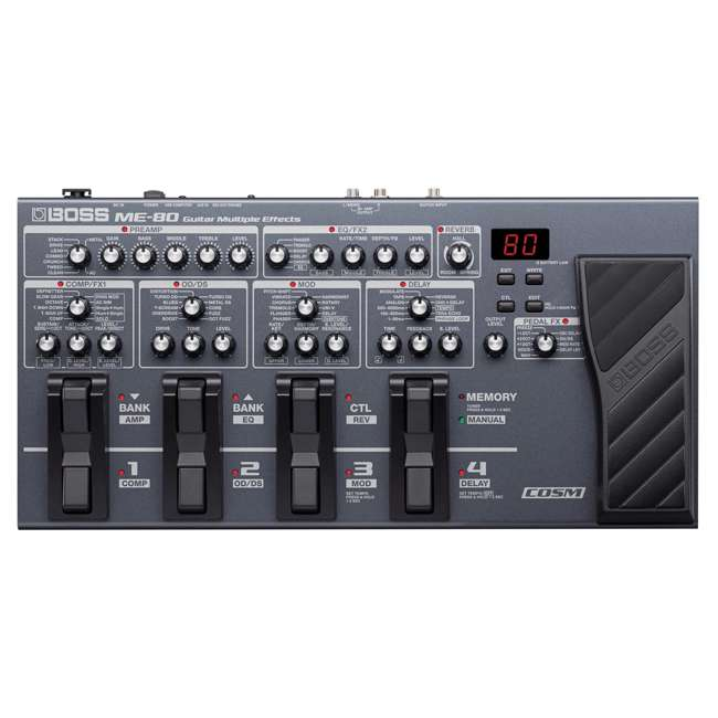 ME-80-OB Boss 24 Bit ME 80 Multiple Audio Effects Guitar Pedal Compact Tone Processor (Open Box)