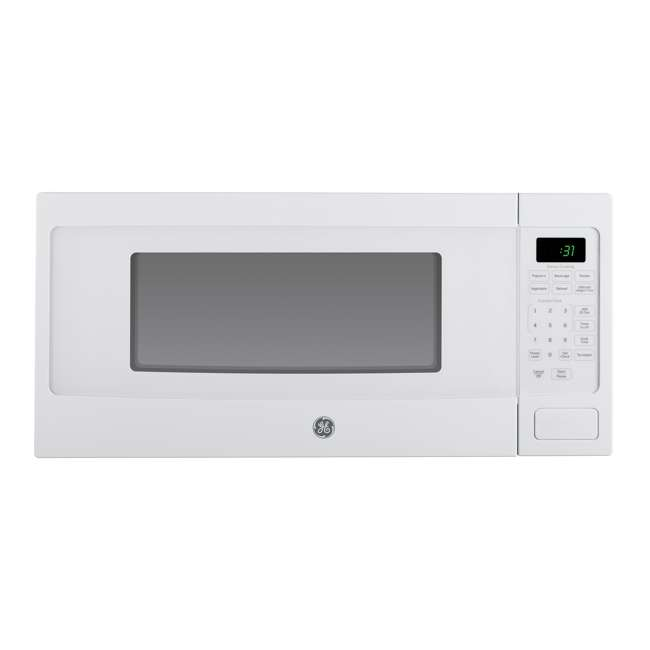 PEM31DFWW-RB GE PEM31DFWW 1.1 Cu. Ft. White Countertop Microwave Oven (Certified Refurbished)