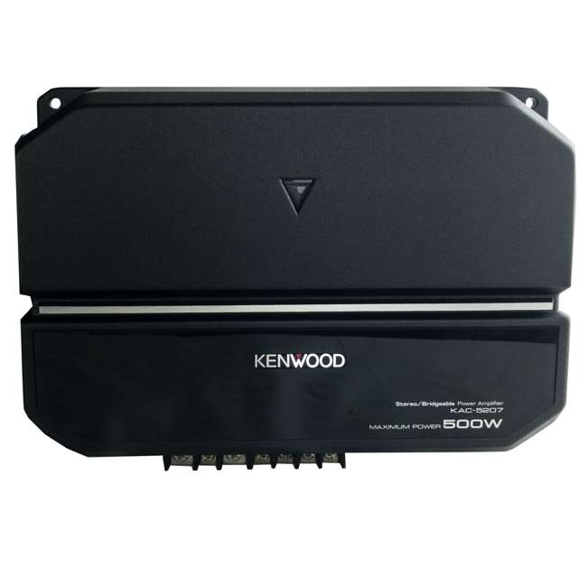 P-W101B-U-B Kenwood 10 Inch Car Loaded Vented Subwoofer & 500W Amplifier Package (Used) 2
