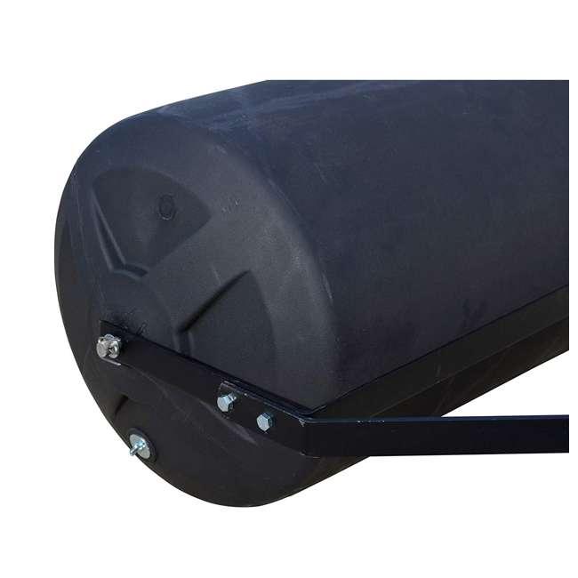 PLR1848-U-B Precision Products 18 inch by 48 Inch Poly Lawn Garden Roller, Black (Used) 2