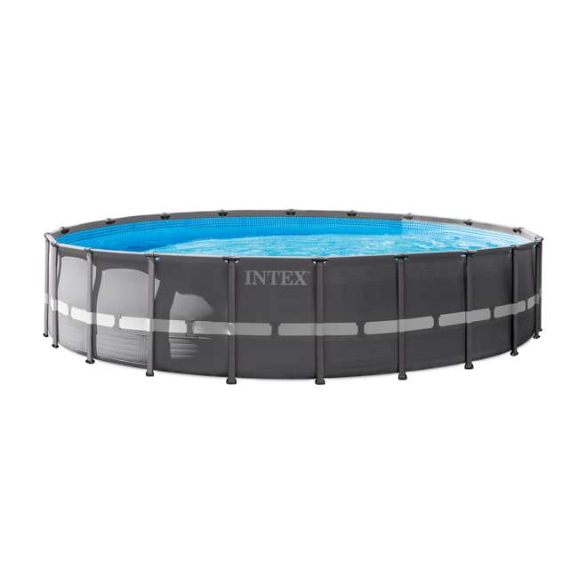 "28931T Intex 20' x 52"" Above-Ground Ultra Frame Pool Set with Pump"