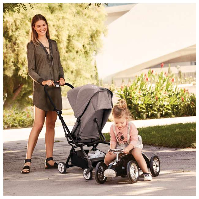 518001265-OB CYBEX Eezy S Twist Pram Pushchair Buggy Stroller, Manhattan Grey (Open Box) 8