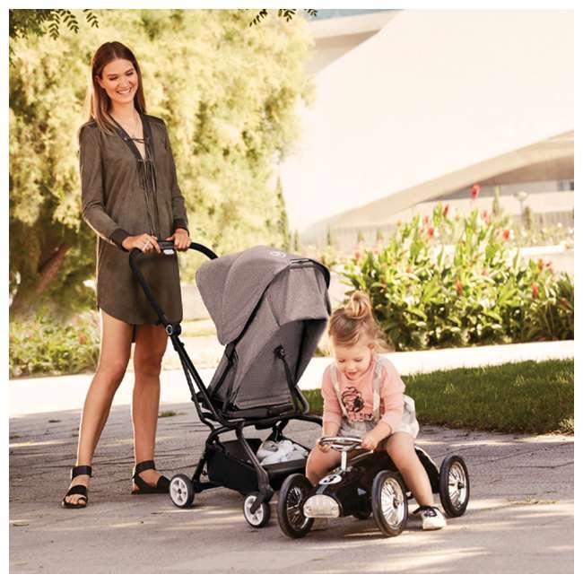 518001265 + 515103015 Cybex Eezy S Twist Stroller, Manhattan Grey & Aton 2  Car Seat 10