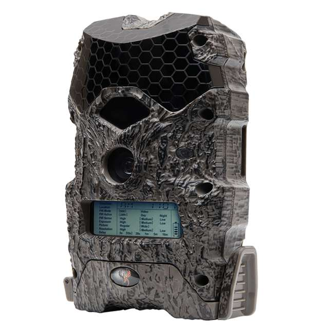 WGI-M18B38D21-7-U-C Wildgame Innovations Lightsout 18MP 720p Hunting Game Camera, Camo (For Parts) 1