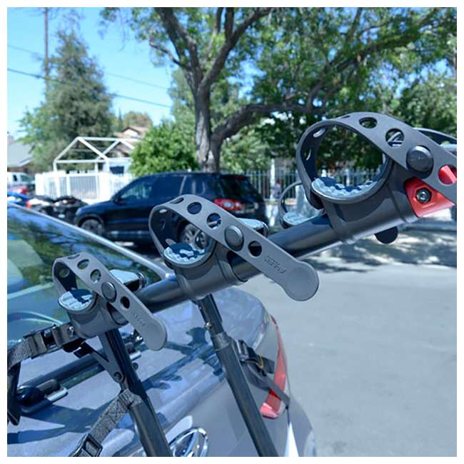 4 x S-103-U-B Allen Sports 3 Bike Foldable Trunk Carrier with Tie Down Straps (Used) (4 Pack) 1