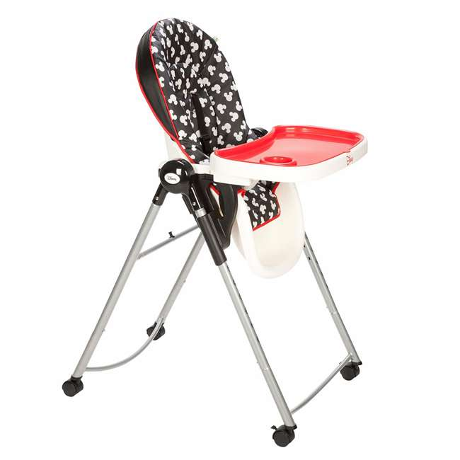 HC230CLV Mickey Mouse AdjusTable High Chair with 6 Heights