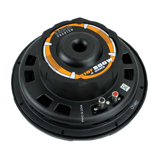 D10F Boss 10-Inch 800 Watt Shallow Subwoofer 3