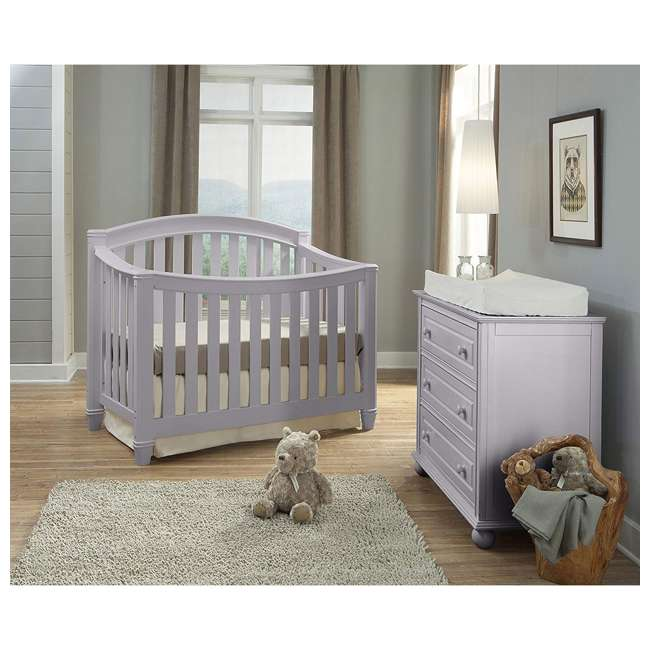 04565-30F Thomasville Kids Highlands 4-in-1 Convertible Infant Crib 1