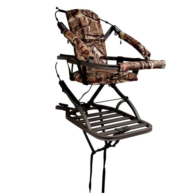 81120-VIPERSD Summit Viper SD 81120 Self Climbing Treestand - Bow & Rifle Deer Hunting