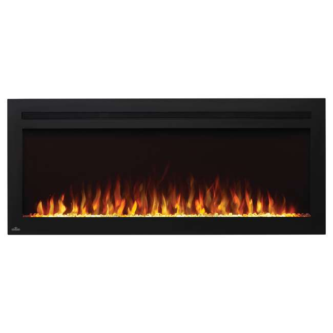 NEFL50HI Napoleon NEFL50HI Purview 50 Inch Linear Electric Wall Mount Fireplace w/ Remote 1
