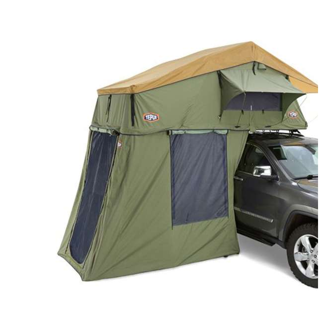 01ASK051601 + MTX02BK Tepui Explorer Autana 3 Person Car Camp Roof Top Tent & Vehicle Recovery Device 3
