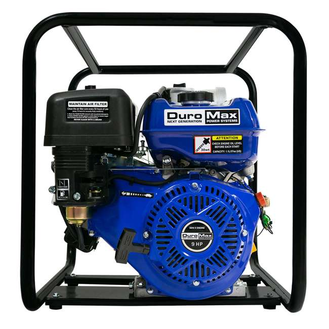 XP904WP DuroMax 9 HP 427 GPM 3,600 RPM 4-Inch Portable Water Pump (2 Pack) 6