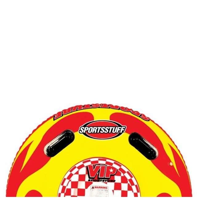 4 x 53-1116 Sportsstuff Sportstube VIP Towable Single Rider Water Tube (4 Pack) 4