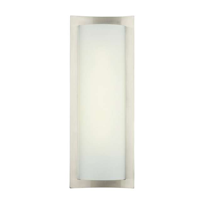 4 x PLC-F559536U Philips Forecast Bow Wrap Bathroom Wall Light, Satin Nickel (4 Pack) 1