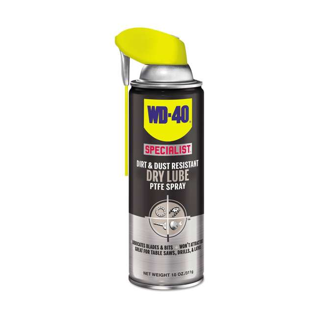 WD-300059 Dirt and Dust Resistant Specialist Dry Lube PTFE Spray
