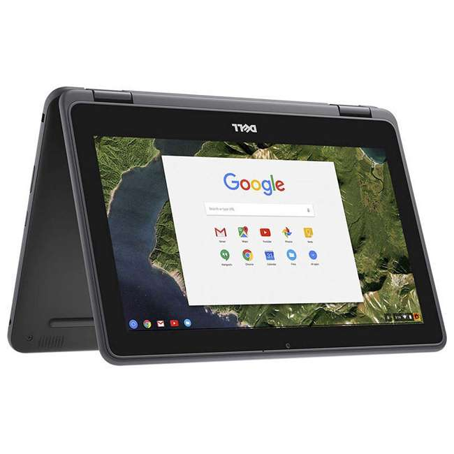 2NN30-C Dell 3189 11.6-Inch HD IPS Touchscreen Chromebook (Manufacturer Refurbished)