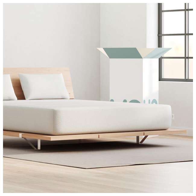VY-TXL Vaya Sleep Soft Cool Sleep CertiPUR Twin XL Size Premium Mattress & Cover, White 1