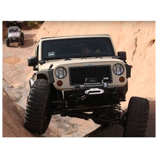 76880-SMITTYBILT Smittybilt XRC Front Fender Armor for Jeep Wrangler, Rubicon & Unlimited 3