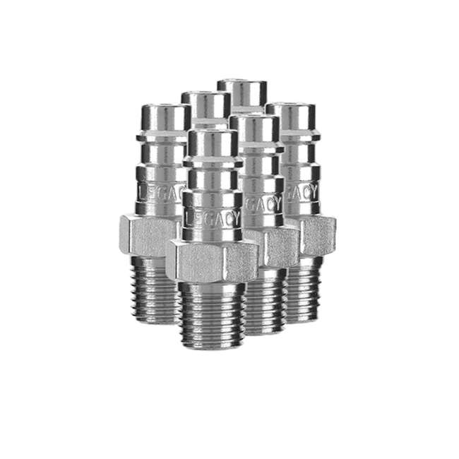 LEG-A53458FZ Flexzilla 14-Piece Pro High Flow Coupler and Plug Kit (2 Pack) 4